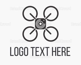 Photo - Sky Drone Photo logo design
