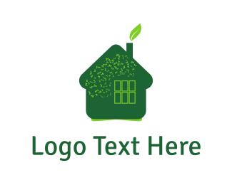 Leaves & Home Logo