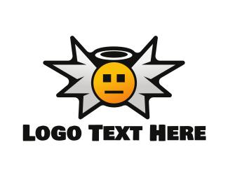 Angel - Angel Icon logo design