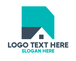 Shape - Basic Shape House logo design
