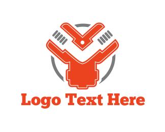 Letter Y - Industrial Circle logo design