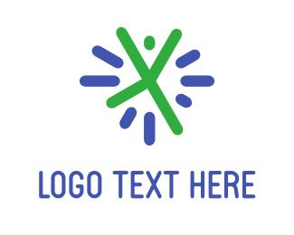 Cheerful - Cheerful Person logo design