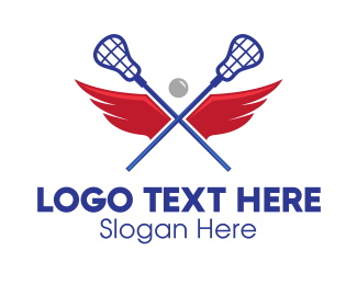 """""""Lacrosse Team Wings"""" by FishDesigns61025"""