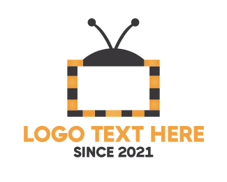 Tv - Bee TV logo design