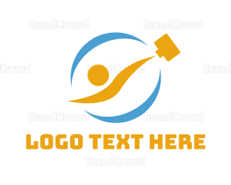 Briefcase - Office Briefcase logo design
