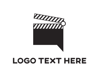 Action - Film Chat logo design