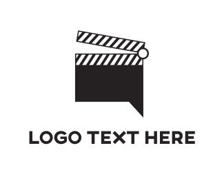 Forum - Film Chat logo design