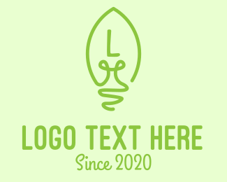 """Eco-Friendly Bulb Lettermark"" by JimjemR"