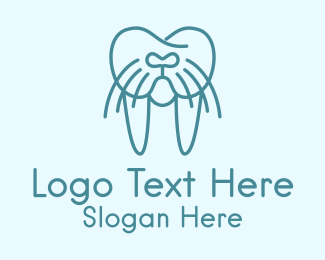 Dental - Walrus Dentist  logo design