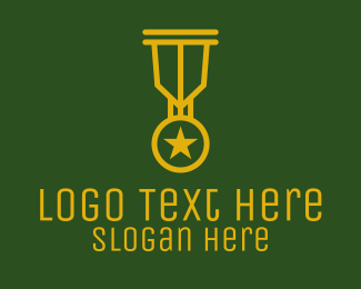 Competition - Military Gold Medal  logo design