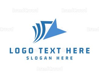 Saas - Blue Click logo design