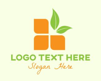 Citrus - Digital Citrus Fruit logo design