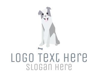 Veterinary - Friendly Dog logo design