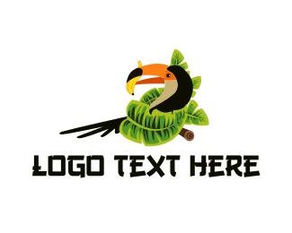 Banana - Toucan & Banana logo design