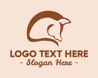 Polo - Abstract Horse Mane logo design