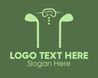 Polo Shirt - Golf Club Shirt logo design