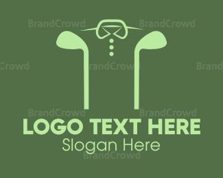 Course - Golf Shirt logo design