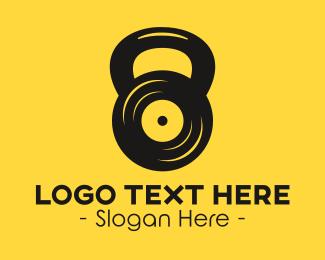 Kettlebell - Kettlebell Vinyl  logo design