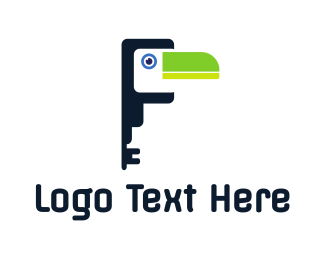 Key - Tucan Key logo design