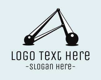 Scientist - Atomic Structure logo design