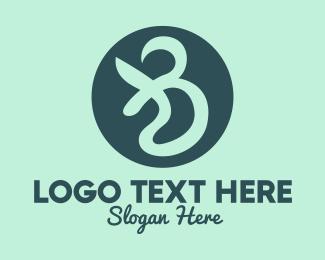 Blue Green - Generic Company Letter B  logo design