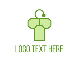 Hangtag - Tea Bag Letter T logo design