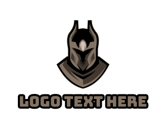 Dark - Dark Knight logo design