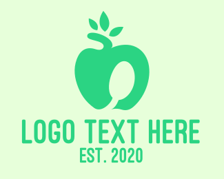 Apple - Healthy Apple logo design