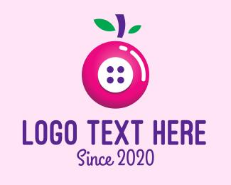 Cherry - Cherry Button logo design