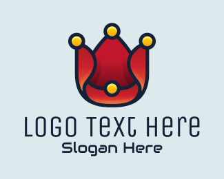 Comedian - Clown Hat Tech logo design