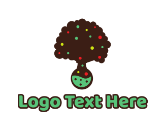 Apple Tree - Tree Lab logo design