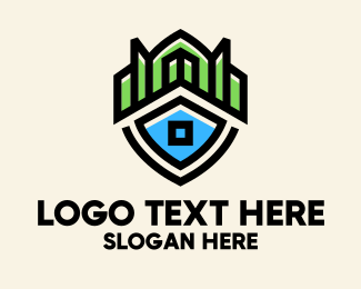 Insurance - Insurance Shield Building  logo design