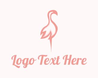 Flamingo - Pink Flamingo Beauty logo design