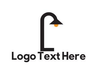 Glow - Outdoor Lamp logo design