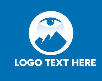 Eye - Mountain Eye Vision logo design