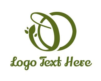 Vine - Green Vine DO logo design
