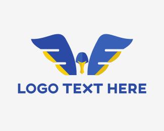 Express - Bird Express logo design