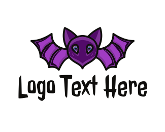 Violet - Violet Bat logo design