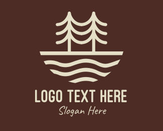 Travel - Brown Outdoor Forest logo design