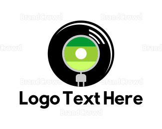 Analog - Vinyl Record logo design