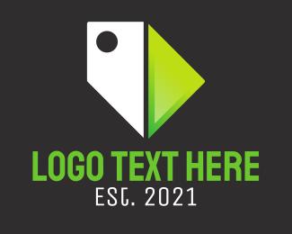 Ecommerce - Price Tag Ecommerce logo design