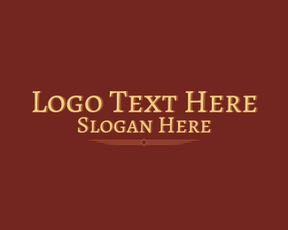 """Legal Firm Wordmark"" by brandcrowd"