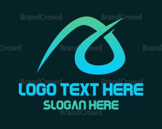 Aqua - Aqua A Stroke logo design