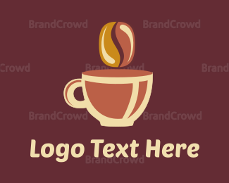 """""""Brown Coffee Cup"""" by revotype"""