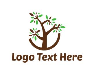 Aged Care - Brown Tree logo design