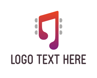 Music Note - Music Tune logo design