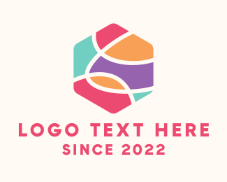 Pastel - Pastel Hexagon logo design
