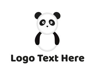 Panda - Panda Bear logo design