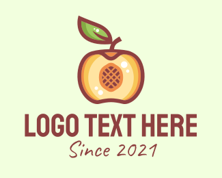 Market - Healthy Apple Market logo design