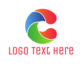 Swim - Colorful Wave C logo design